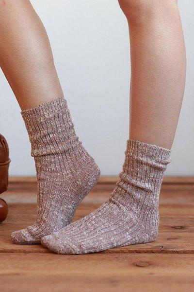 Melange Boot Socks by Urbanista