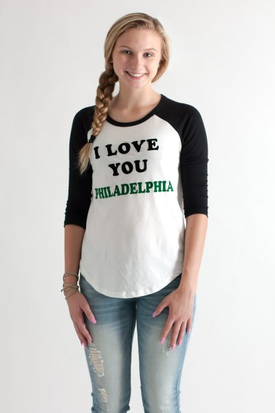Philadelphia Eagles Raglan by Junk Food