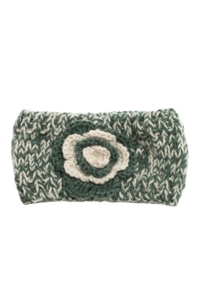 Knit Flower Headband by Do Everything in Love