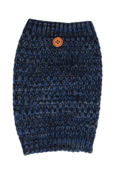 Mixed Blues Button Boot Cuff by C.C.