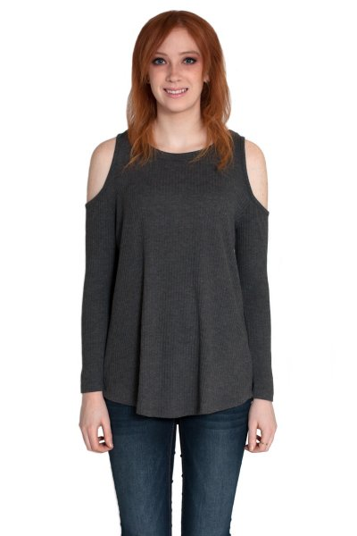 Cold Shoulder Top by Cherish