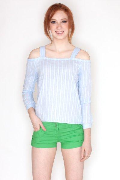 Cold Shoulder Top by Blue Blush