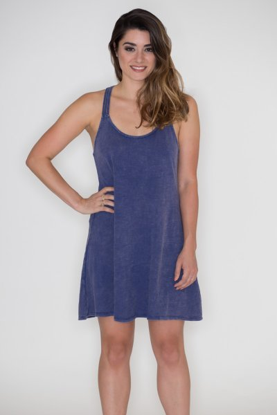 Strappy Back Denim Dress by Very J