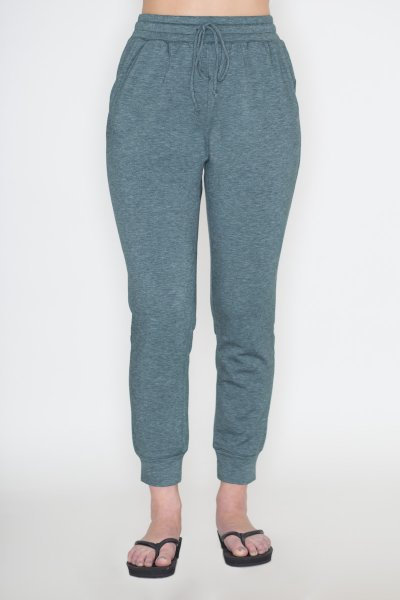 Teal Jogger Pants by Cherish