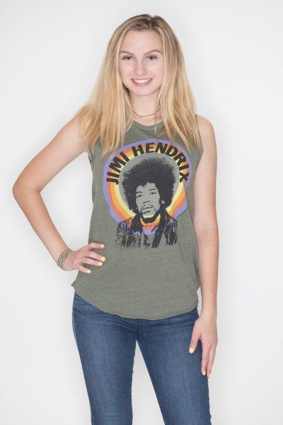 Jimi Hendrix Tank Top by Junk Food