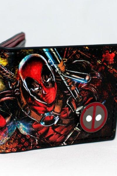 Deadpool Two Fold Wallet by Bioworld