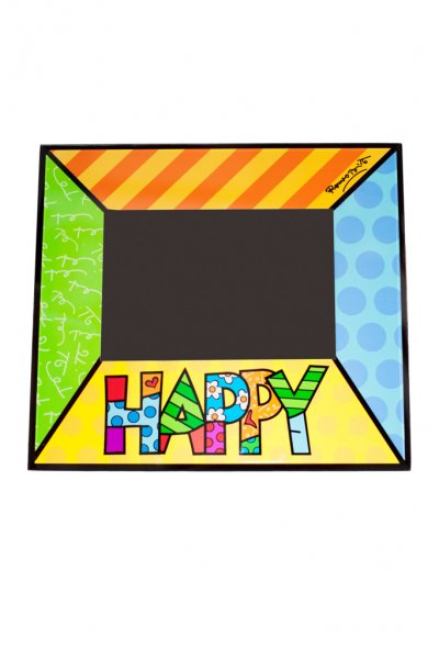 Romero Britto Happy Picture Frame by Giftcraft