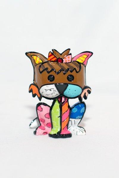 Romero Britto 3-Dimensional Yorkshire Terrier Figurine