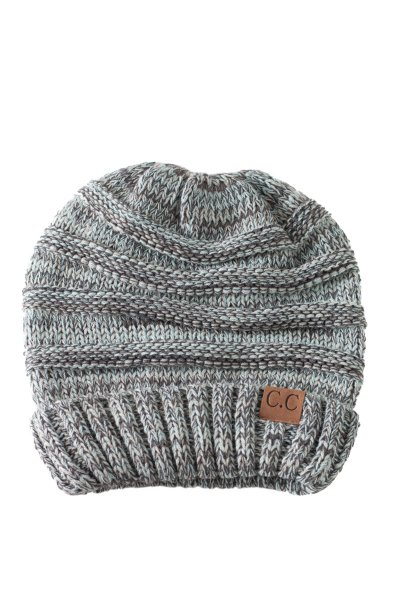 Mint Slouch Beanie by C.C.