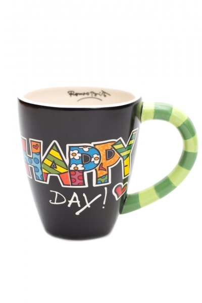 Romero Britto Happy Day Mug by Giftcraft