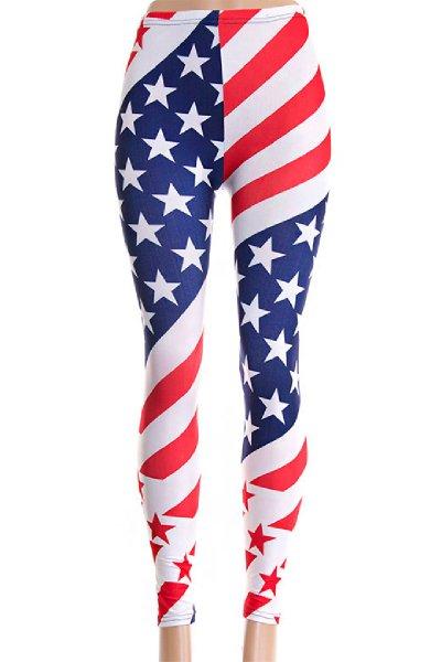 American Flag Leggings by Hana