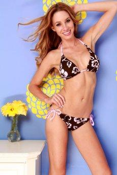 Floral Print Bikini by Dippin Daisys