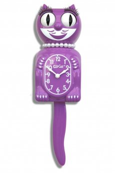 Radiant Orchid Lady Kit-Cat Clock