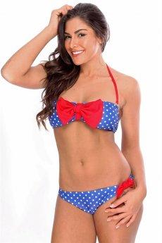 Americana Polka Dot Bikini by Dippin Daisys