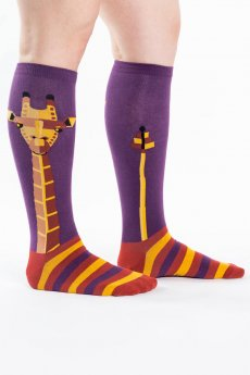 Geo-raffe Socks by Sock It To Me
