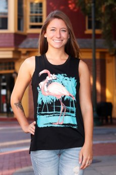 Catching A Ride Tank Top by Bear Dance
