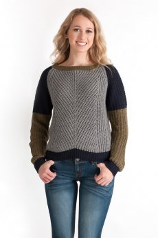 Color Block Sweater by She and Sky