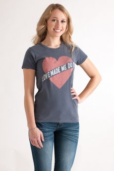Love Made Me Do It Tee