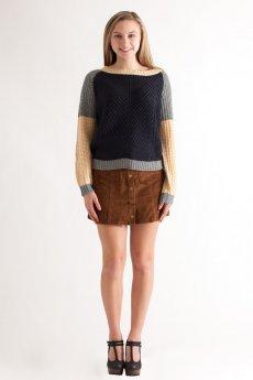 Corduroy Mini Skirt by She and Sky
