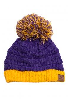 Pom Knit Beanie by C.C.