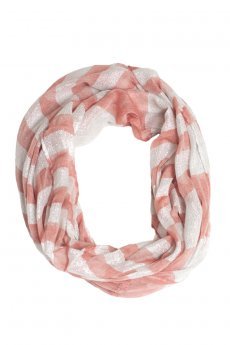 Striped Shimmer Scarf by Love of Fashion