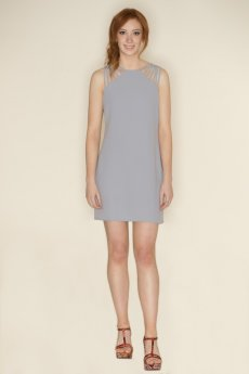 Spaghetti Strap Shoulder Dress by She and Sky