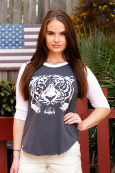 Wild Thing Raglan by Junk Food