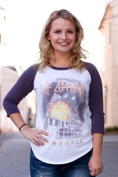 Def Leppard Pyromania Raglan by Junk Food