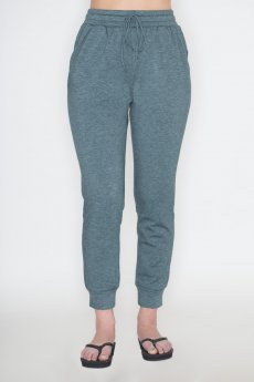 Teal Jogger Pants by Cherish