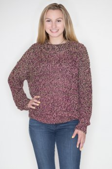Multicolor Lurex Sweater by Umgee