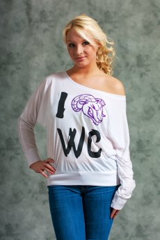 West Chester Ram Dolman Sleeve Top by May 23