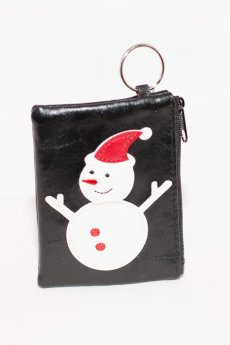 Snowman Coin Purse by Lavishy