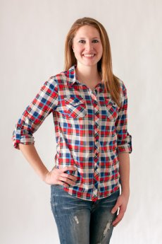 Plaid Button Down by Passport
