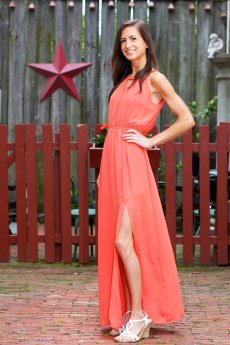 Keyhole Maxi Dress by Very J