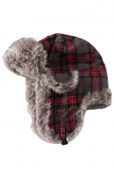 Plaid Trapper Hat by Delux