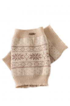 Snowflake Boot Cuffs by C.C