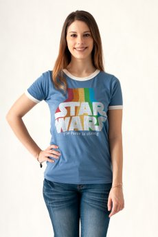 Star Wars Ringer Tee by Junk Food