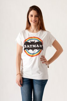 Batman Rainbow Tee by Junk Food