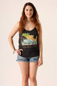 Sun Your Buns Tank Top by Junk Food