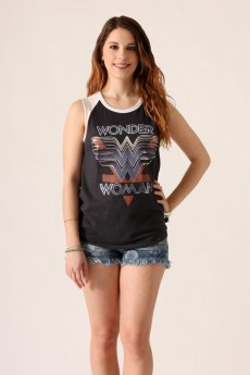 Wonder Woman Raglan Tank by Junk Food