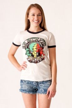 Grateful Dead Ringer Tee by Junk Food