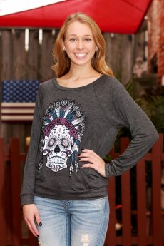 Original Spirit Skull Top by G & G