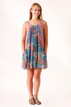 Paisley Print Dress by Umgee USA