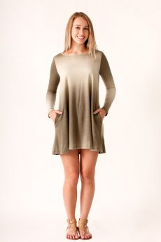 Ombre Pocket Dress by Cherish