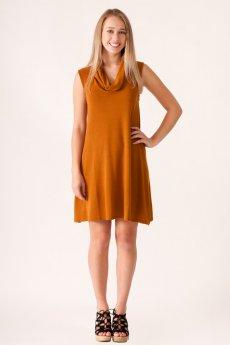 Cowl Neck Sleeveless Dress by HYFVE