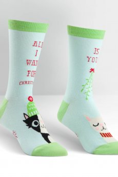 Sock It To Me All I Want For Christmas
