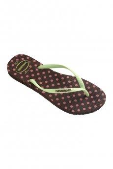 Havaianas Slim Fresh Polka Dot Pop-Up Sandal