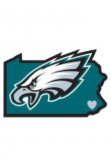 Philadelphia Eagles State Decal by Siskiyou Sports