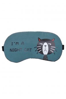 Night Cat Eye Mask