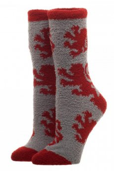 Gryffindor Fuzzy Socks by Bioworld
